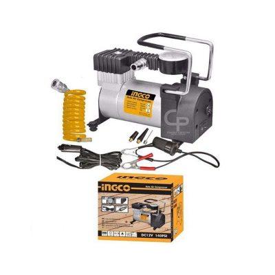 Ingco Car Pump Air CompressorAuto Electric Tire Inflator Portable
